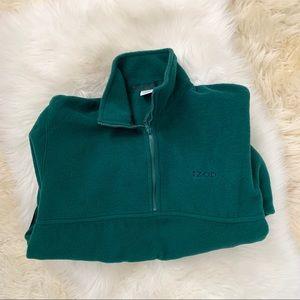 Izod• Half Zip Fleece Pullover with Pockets